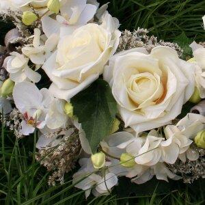 Grabschmuck Trauerkranz Beerdigung 43 cm