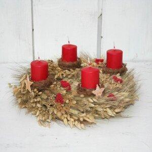 """Adventskranz """"Weihnachtszauber"""" mit..."""