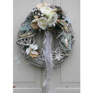 Adventskranz Shabby Chic
